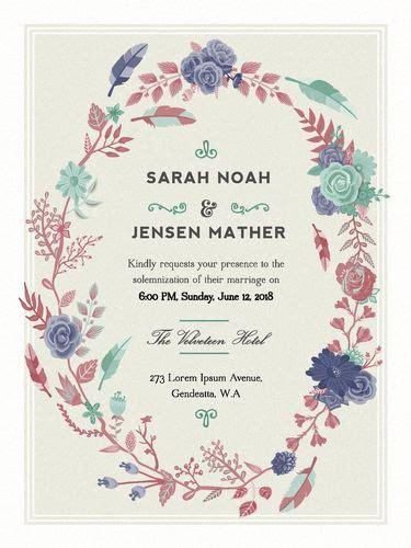 contoh undangan pernikahan simple tapi terkesan mahal