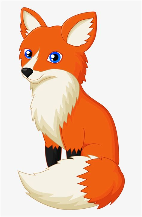 drawing red fox clip art transprent png fox clipart
