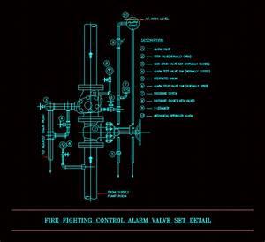 Fire Fighting Control Alarm Valve Set Detail  2 28 Mb
