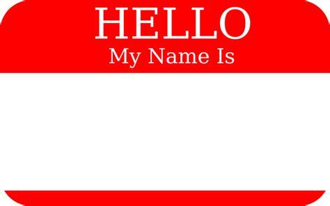 How To Design Conference Name Badges  David Evans