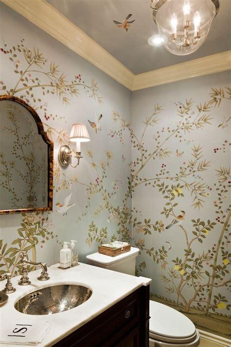 chinoiserie wallpaper ideas  pinterest
