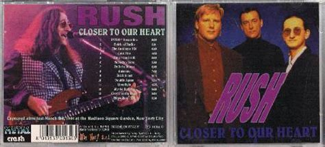 Rush Closer To The Heart Records, Lps, Vinyl And Cds