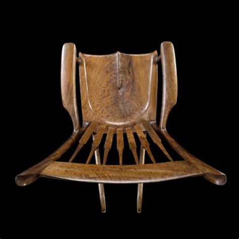 building a maloof inspired rocking chair with charles brock