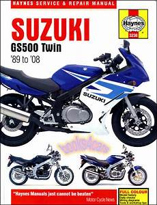 Shop Manual Gs500 Service Repair Suzuki Book Haynes Gs500e Gs500f Gs 500 E Twin