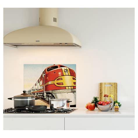 credence cuisine fantaisie crédence pour cuisine moderne retro impression