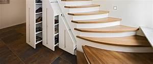 Schrank Unter Treppe Kaufen : treppen schreinerei roth und schwarz ~ Markanthonyermac.com Haus und Dekorationen
