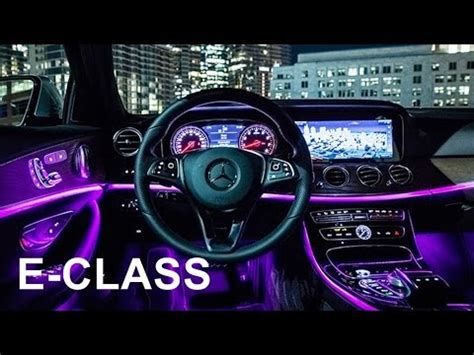 mercedes  class interior review youtube