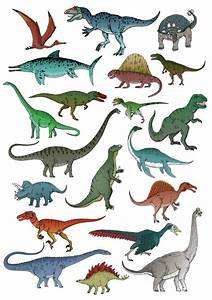 All Dinosaurs Names And Pictures 2016