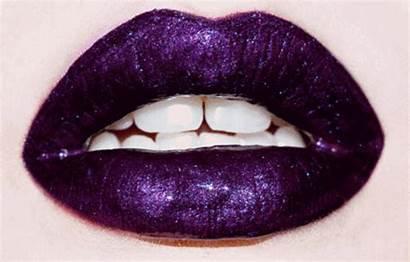 Lip Lips Purple Mouth Lipstick Makeup Dark