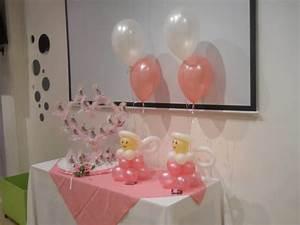 como hacer adornos con globos para bautizo ¡Hermosísimos!