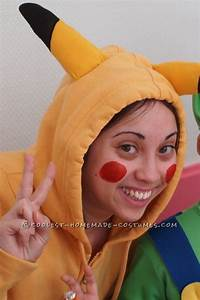 Coolest Homemade Pikachu Costume   Pikachu, Costumes and ...