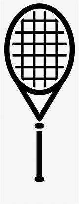 Tennis Coloring Racquet Racket Clipart Template Clipartkey sketch template