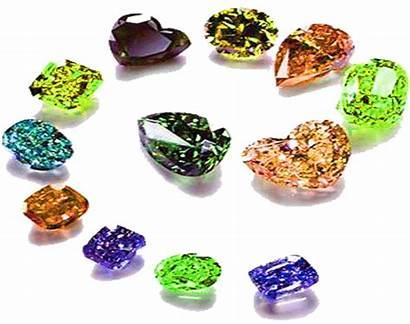Diamond Diamonds Evaluating Colored Graded Fluorescence Jewelry