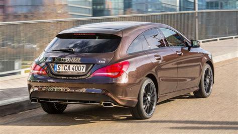 Coupe, 4 doors, 5 seats. Mercedes CLA 220 CDI Sport Shooting Brake (2016) review   CAR Magazine