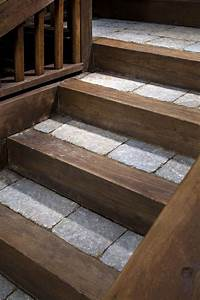 Stone Steps  U00bb Sbi Materials  Belgard Pavers With Rustic