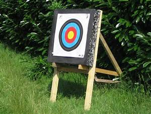 Fabriquer Un Arc : fabriquer chevalet cible tir a l arc ~ Nature-et-papiers.com Idées de Décoration