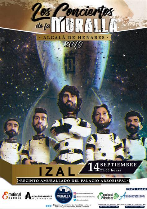 Izal llega a Alcalá de Henares este sábado 14 de