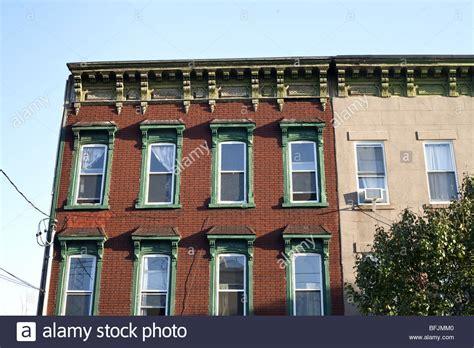 Old Brick Building Red Hook Elaborate Carved Wood Window