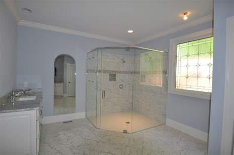 level entry showers design build planners