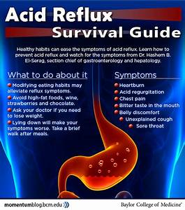 How To Ease Acid Reflux Symptoms