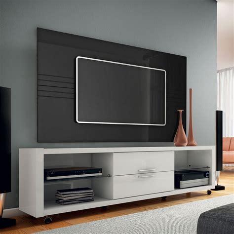 sala sofa preto e painel de mais modernidade para sua sala um rack painel