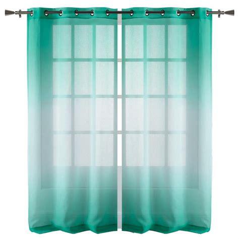 collection ombre rideau voilage longueur 84 po rideaux