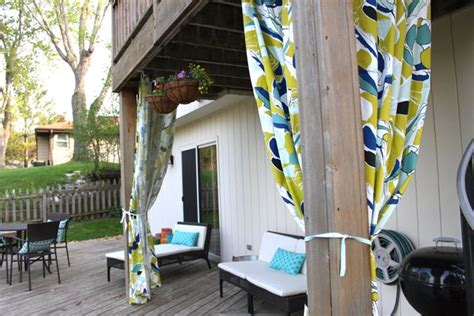 Outdoor Patio Curtains Ikea by Outdoor Curtains From Ikea Home Style