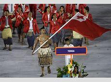 Who Is Tonga's Flag Bearer? WSJ
