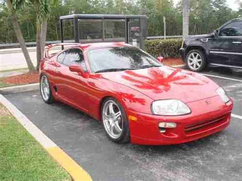 1998 Toyota Supra Turbo by Sell Used 1998 Toyota Supra Turbo Hatchback 2 Door 3