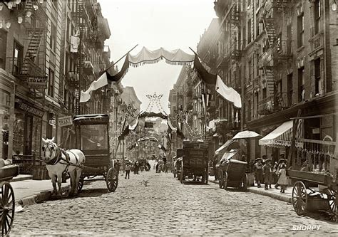 Little Italy tenements | Little italy new york, Mott ...