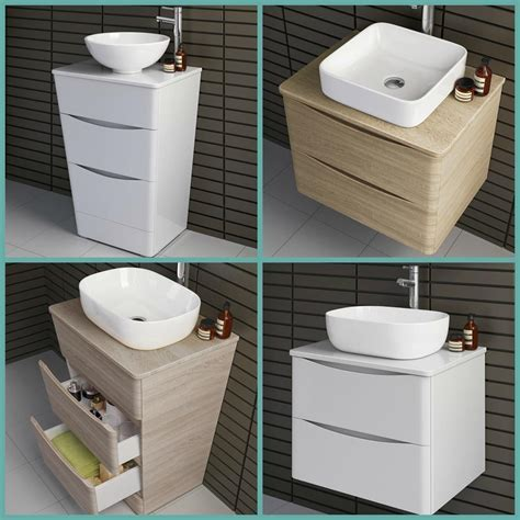 Modern Bathroom Furniture Storage Cabinet Vanity Unit