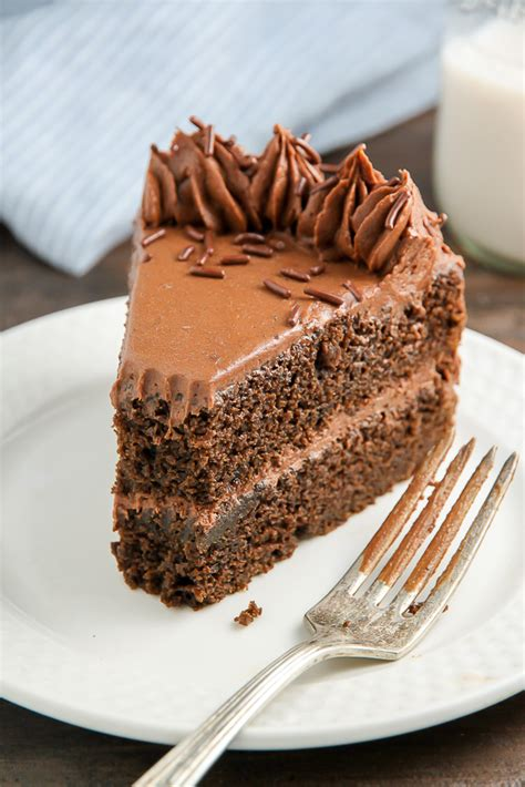 chocolate ricotta layer cake baker  nature