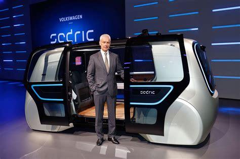 Volkswagens Pod Cast Sedric Concept At Geneva 2017 By
