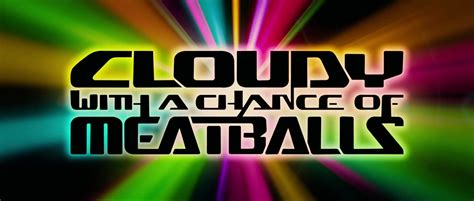 cloudy   chance  meatballs sony pictures