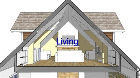 attic roof design images design an attic roof home with dormers using sketchup quick overview and animation youtube