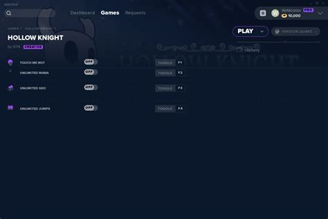 Hollow Knight Cheats And Trainer For Steam Trainers
