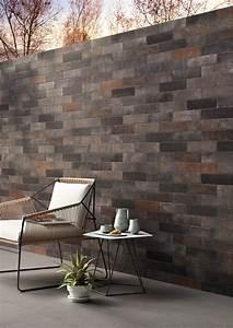 Mur Effet Brique : rev tement de sol mur en gr s c rame effet brique terramix by marazzi ~ Melissatoandfro.com Idées de Décoration