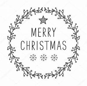 Merry Xmas Schriftzug : frohe weihnachten text design mit schneeflocken schriftzug stockvektor maximkostenko ~ Buech-reservation.com Haus und Dekorationen