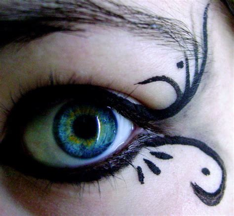 gothic beauty add  gothic elements   makeup ideas pretty designs