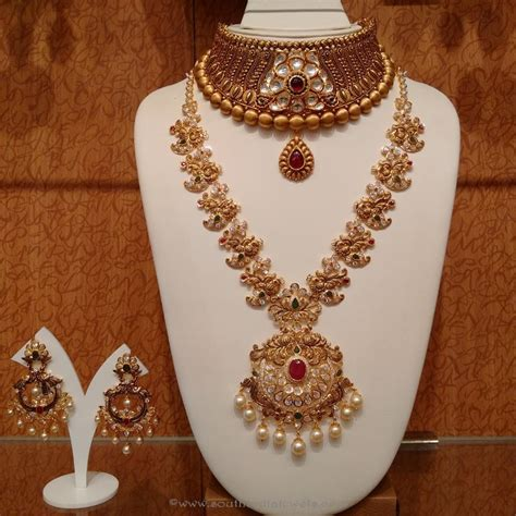 Bridal Jewelry by Gold Antique Bridal Jewellery Sets From Naj Bridal
