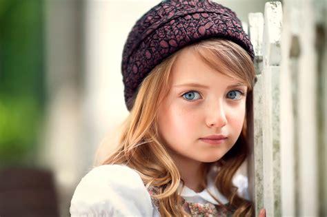 image  girls dark blonde doll face beautiful child