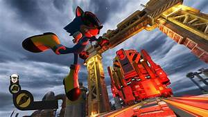 Sonic Forces Chemical Plant Zone Custom Character