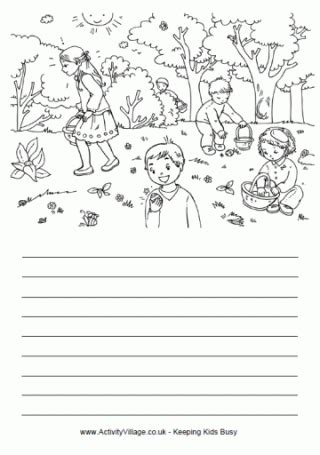 easter story paper