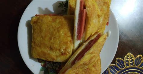 resep canape keju enak  sederhana cookpad