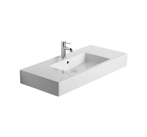 duravit vero basin no tap duravit vero 1050 x 490mm 1 tap furniture basin