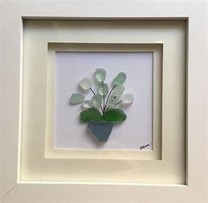 Scottish, Seaglass, Flowers, In, 2021
