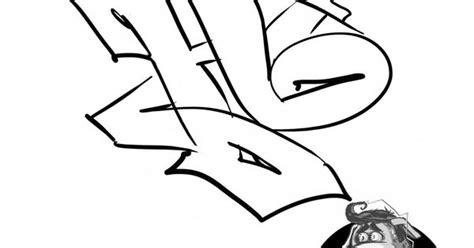 Abjad Graffiti B : Graffiti Letter Alphabet Http