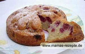 Kirschkuchen Blech Pudding : sauerkirsch r hrteigkuchen mamas rezepte mit bild ~ Lizthompson.info Haus und Dekorationen