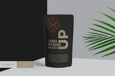 Its a simple clean and perfect to use on your next business. Free Psd Stand Up Pouch Mockup on Behance