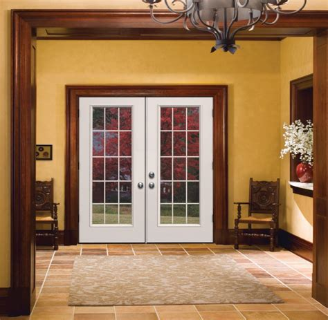 veranda 72 inch 15 lite lefthand inswing patio door
